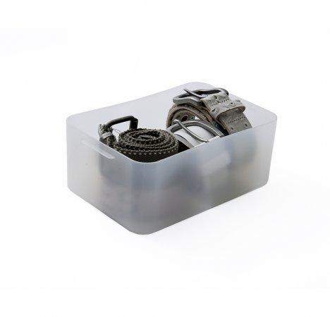 PURE Box medium 2.9 l / A5  transparent