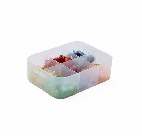 PURE Box mit Unterteilung 0.6 l / A6
