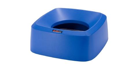 Iris SQR Deckel blau