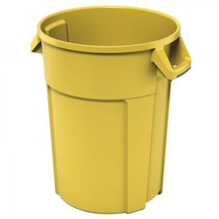 Titan Eimer 85 l gelb