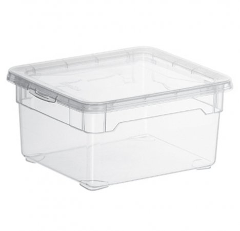 Clear Box Small 2 l