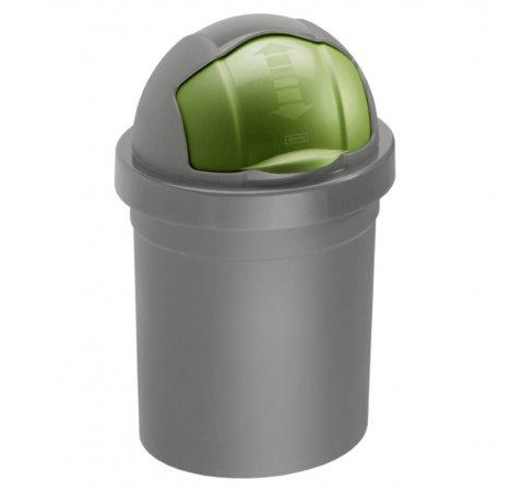 Abfalleimer ROLL BOB, RENEW 10 l  grün