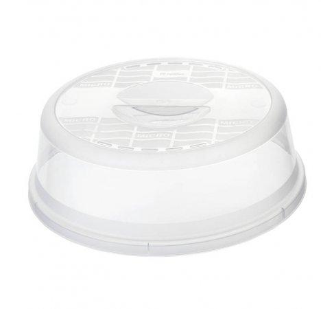 Mikrowellen-Abdeckhaube BASIC 28.5 cm  transparent