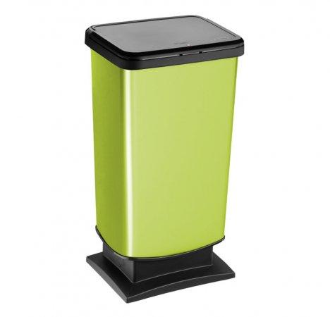 Push bin PASO 40 l  grün
