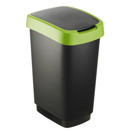 Abfalleimer TWIST 25 l grün