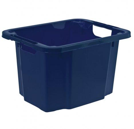 Dreh-/Stapelbox REVERSO 16 l  blau