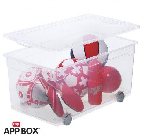 Clear Box Roller 4 63 l  transparent