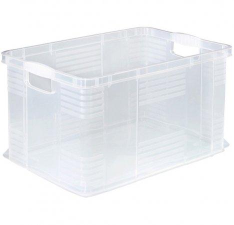 Systembox AGILO 55 l / A3  transparent
