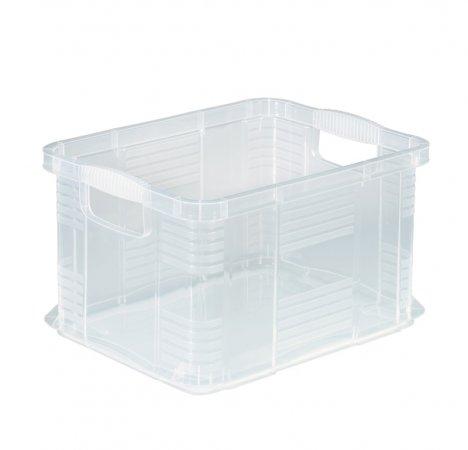Systembox AGILO 17.5 l / A4  transparent