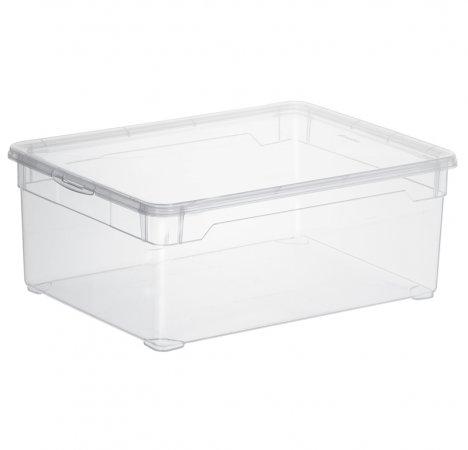 Clear Box Men Shoe 10 l