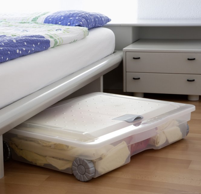 unterbettbox cargo 60 l jetzt versandkostenfrei kaufen im rotho online shop. Black Bedroom Furniture Sets. Home Design Ideas