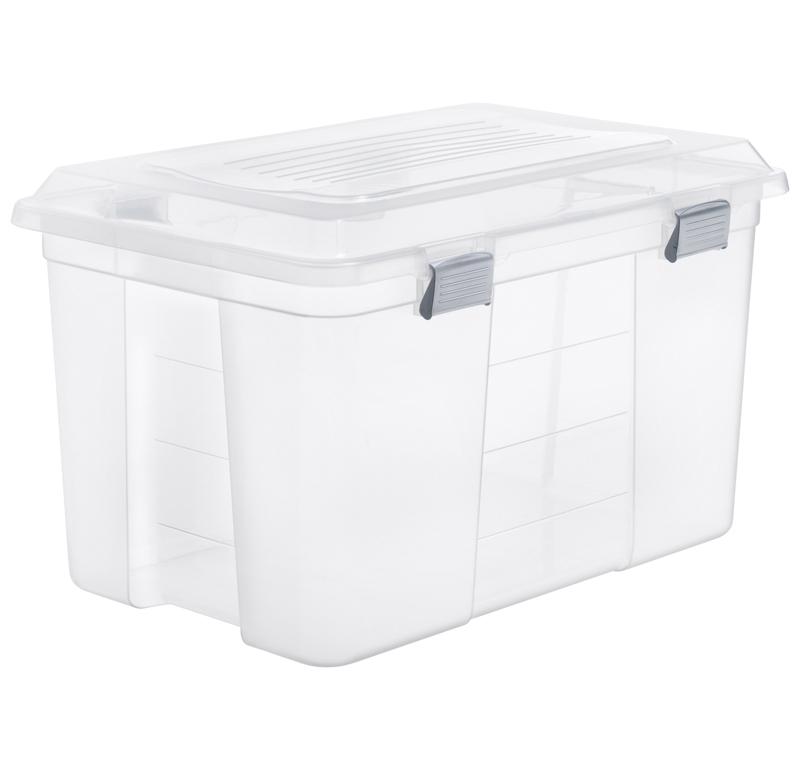 aufbewahrungsbox packer 60 l jetzt versandkostenfrei kaufen im rotho online shop. Black Bedroom Furniture Sets. Home Design Ideas