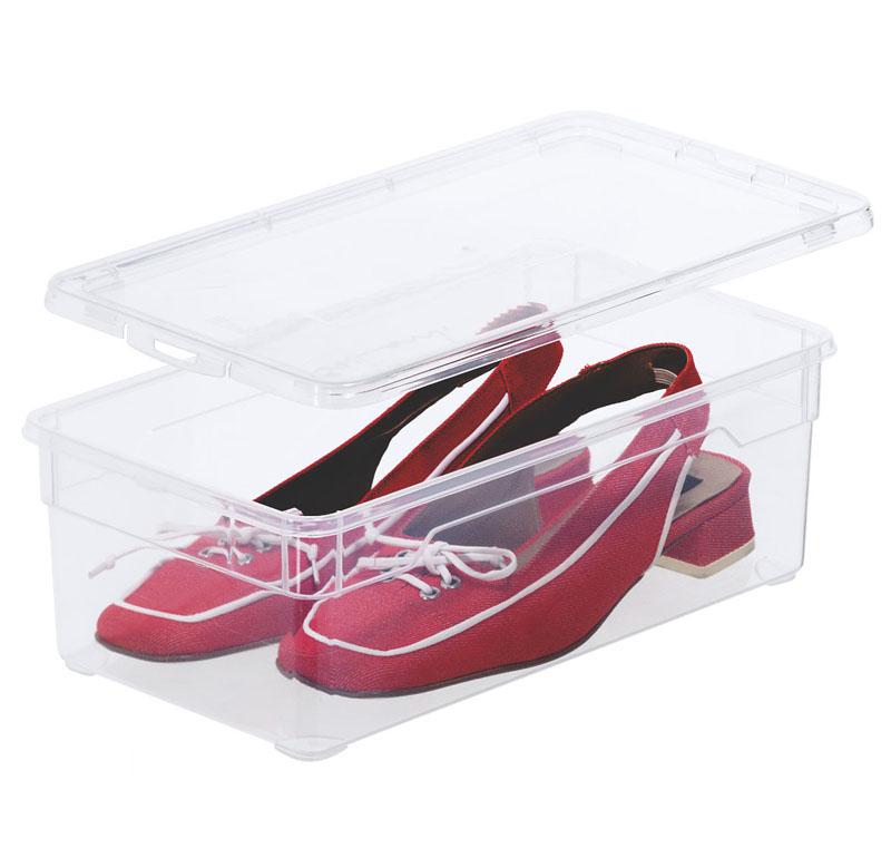 clear box lady shoe 5 l jetzt versandkostenfrei kaufen im rotho online shop. Black Bedroom Furniture Sets. Home Design Ideas