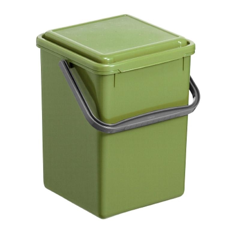 rotho komposteimer 8l renew 8 l gr n ebay. Black Bedroom Furniture Sets. Home Design Ideas