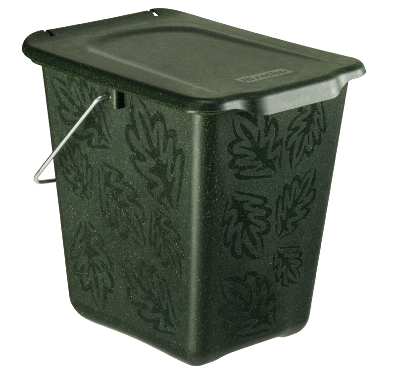 rotho 1770505519 komposteimer bio abfallbeh lter f r die. Black Bedroom Furniture Sets. Home Design Ideas