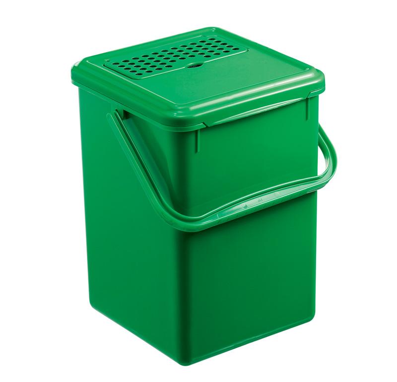 komposteimer mit aktivkohlefilter bio 8 l jetzt versandkostenfrei kaufen im rotho online shop. Black Bedroom Furniture Sets. Home Design Ideas
