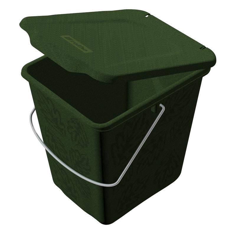 rotho komposteimer greenline 7l. Black Bedroom Furniture Sets. Home Design Ideas
