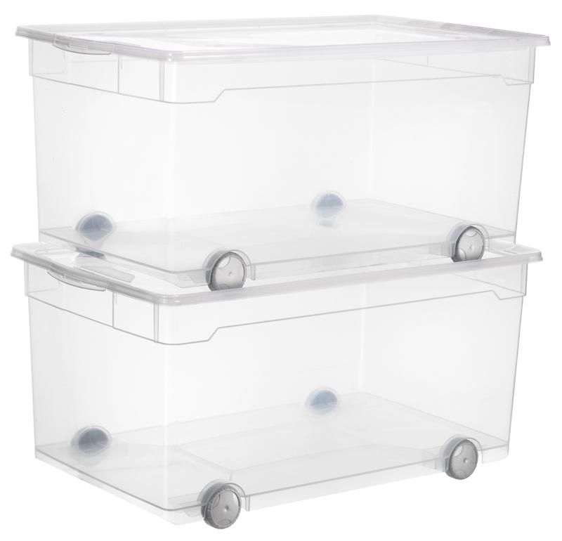 clear box roller 4 63 l jetzt versandkostenfrei kaufen im rotho online shop. Black Bedroom Furniture Sets. Home Design Ideas