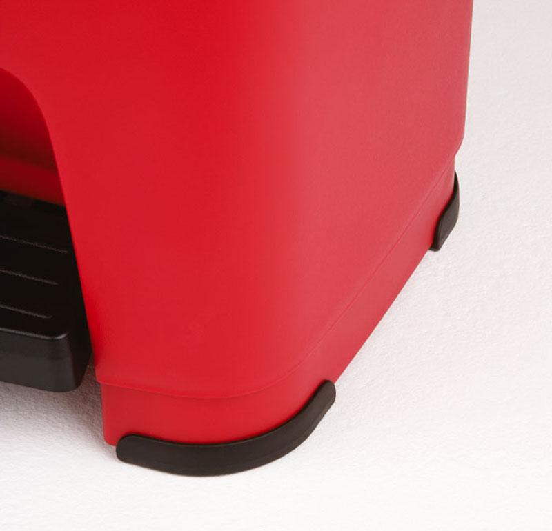 pedaleimer hera 60 l rot jetzt versandkostenfrei kaufen im rotho online shop. Black Bedroom Furniture Sets. Home Design Ideas