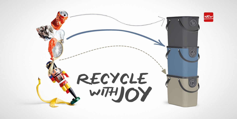 Banner Recyclinglösung